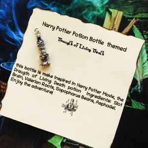 Living Death Harry Potter Potion inspire necklace